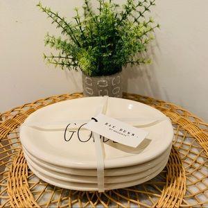 """Rae Dunn Oval """"GOBBLE"""" Plates"""